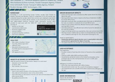 Interactive Symposium: Impact of a Cooperative Safety-Related Traffic Information System