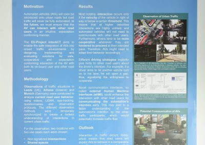 Interactive Symposium poster: InterACT Work Package 2