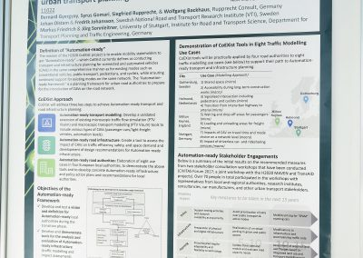 Poster: Automation-Ready framework for Urban Transport Planning