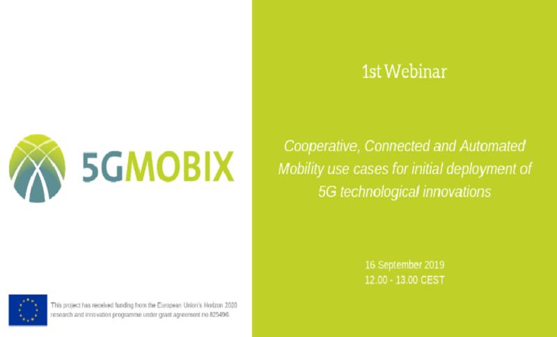 1st 5G-MOBIX Webinar