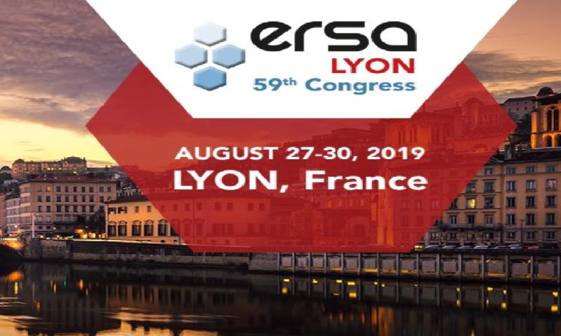 59th ERSA Congress