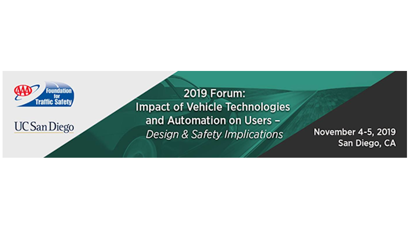 Forum on Impact of Vehicle Technologies and Automation on Users