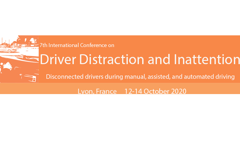 7th International Conference on Driver Distraction and Inattention – Postponed to 2021