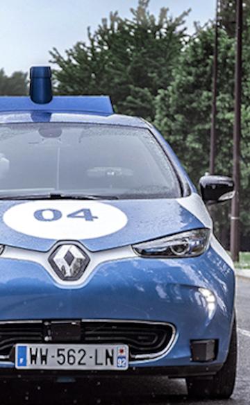 Renault trials on autonomous taxi in Paris