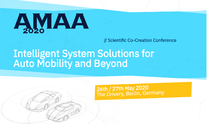 "AMAA 2020 Conference ""Intelligent System Solutions for Auto Mobility & Beyond"""