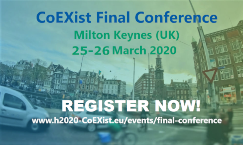 CoEXist Final Conference – Virtual Event