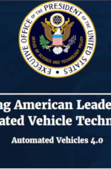 A report on ensuring leadership in automated vehicle technologies in the US