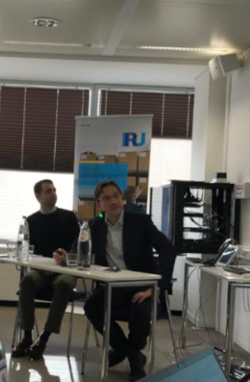 CAD at the IRU workshop