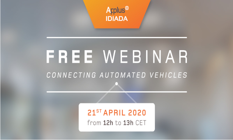 Connecting Automated Vehicles Webinar by IDIADA