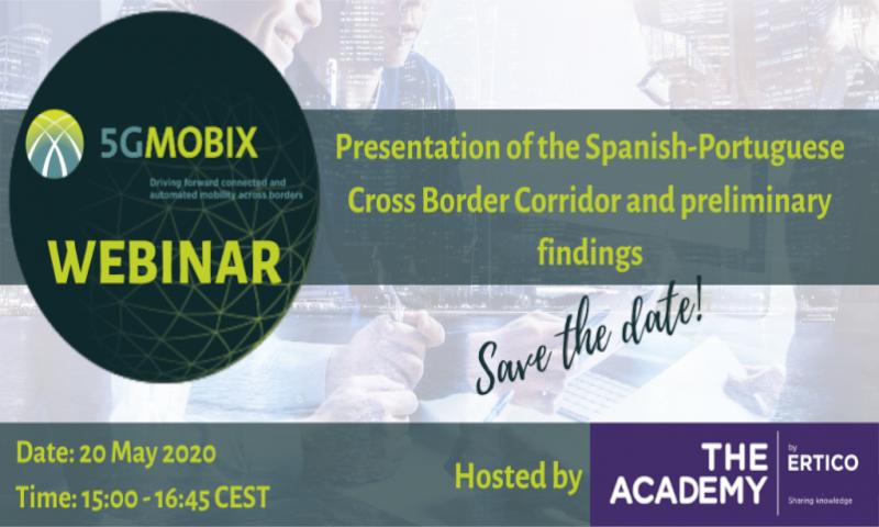 5G-MOBIX webinar: presentation of the ES-PT Cross Border Corridor