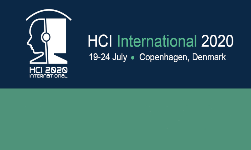 HCI International 2020 conference