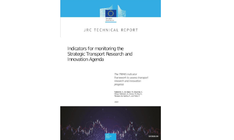 JRC's technical report on indicators for monitoring STRIA