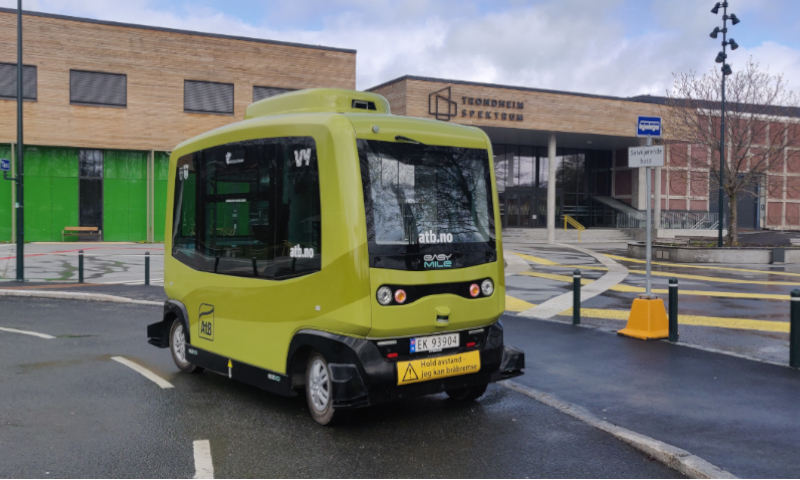 First European on-demand self driving bus to be piloted in Trondheim