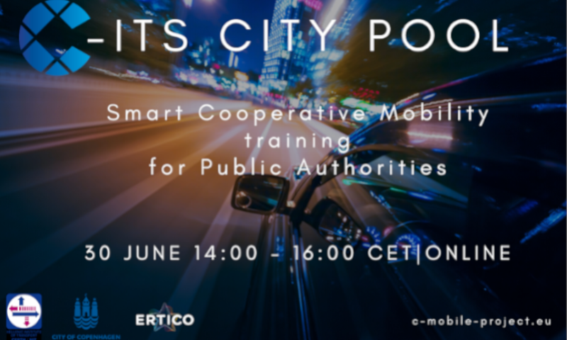C-ITS City Pool: Smart cooperative mobility training for public authorities