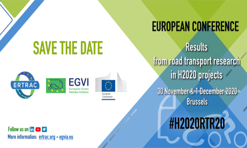 4th Edition of H2020 Road Transport Research European Conference