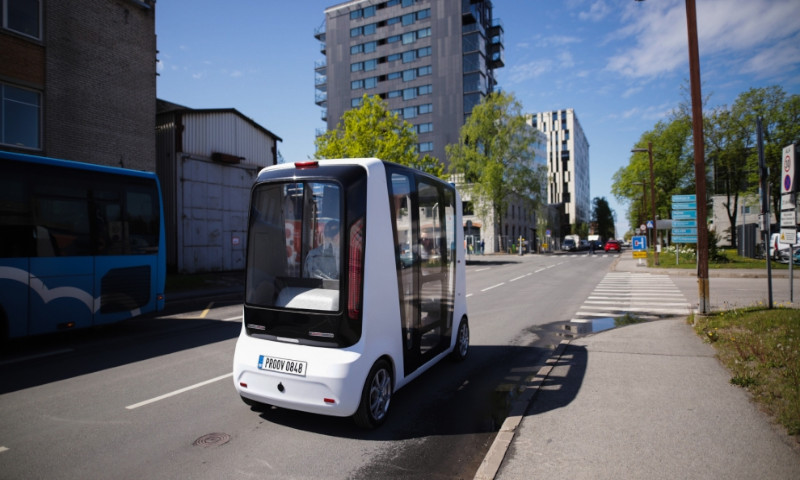 Self-driving shuttle buses are coming to the street of Tallinn