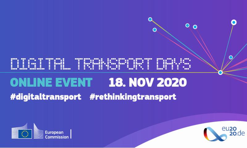 Digital Transport Days 2020 – Save the Date!