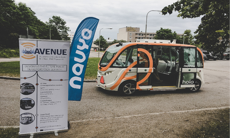 Testing autonomous mobility solutions in Copenhagen