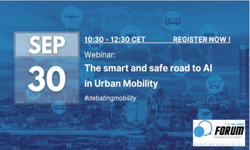 Webinar: The smart and safe road to AI in urban mobility