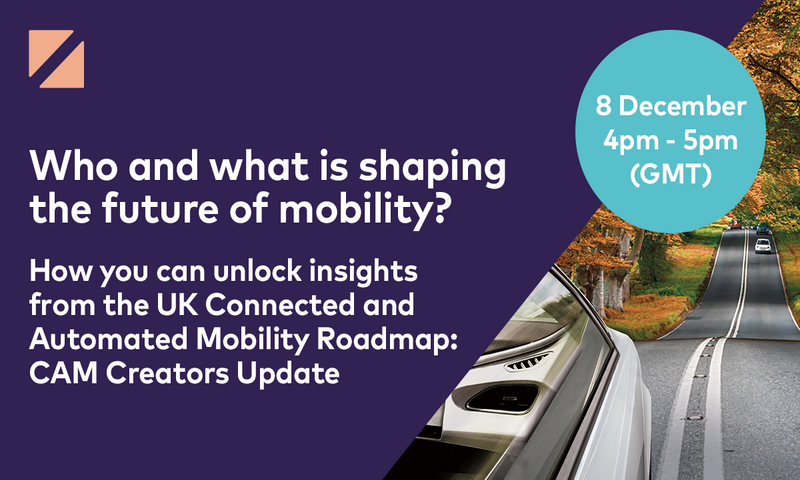 Zenzic webinar – Who and what is shaping the future of mobility?