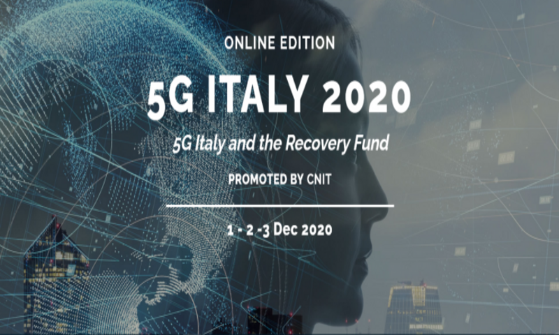 "5G Italy event 2020: ""5G Italy and the Recovery Fund"""