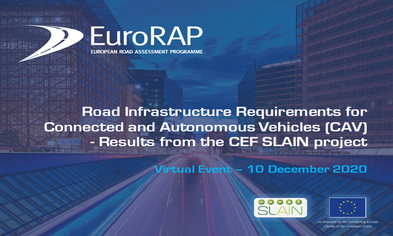 """CEF SLAIN project presents the """"Road Infrastructre requirements for CAV"""""""