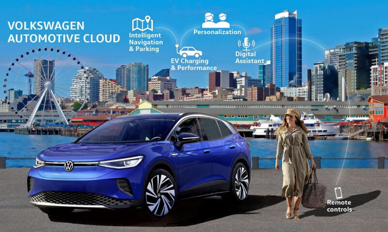 Shaping the connected car of tomorrow: Volkswage Automotive Cloud