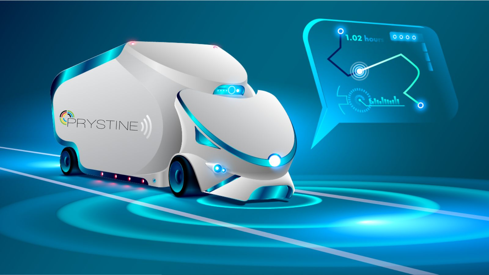 PRYSTINE showcases support to Lighthouse Mobility.E initiative