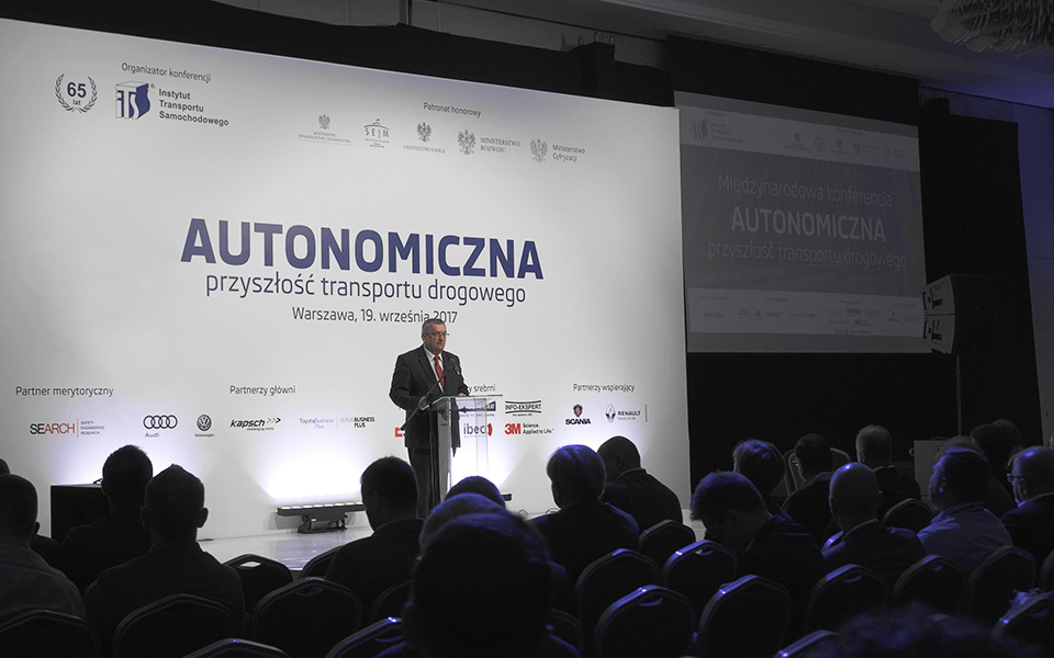 "Conference on ""Autonomous future of road transport"""
